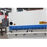 CNC hydraulic swing shearing machine