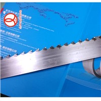 Hard alloy steel or carbide steel band saw blade for hard wood cutting