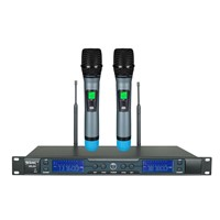 High quality IR synchronization uhf wireless microphone
