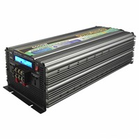 LCD display home system dc to ac power inverters 6000w
