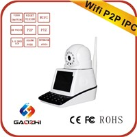 Video Chatting Full 720P 3.5 Inch Lcd Ip Camera Hd Wifi Family Security Products