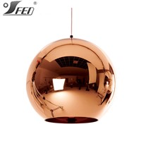 2015 best sell products Tom Dixon Copper glass pendant lamp