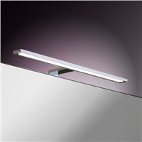 Aluminum chromed bathroom illuminate led bathroom lamp