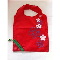 Fold up Reusable Strawberry Shopping Bag