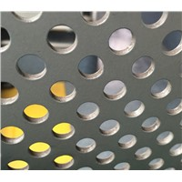 "Round Punching Hole 3/16"" Diameter Steel Perforated Mesh Sheet"