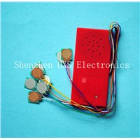 Sound box/voice box for music book/music box module toy manufacture