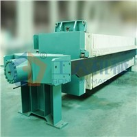 Vane-type diatomite filter machine