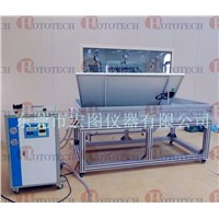 Wet leakage current testing system