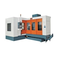 3 axes horizontal CNC deep hole drilling machine TL-1350