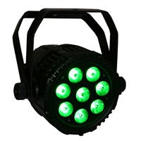 Waterproof Outdoor IP65 LED PAR Light 8x12W 6in1 RGBWA+UV LED DMX512 ( DashPAR 8XIP)