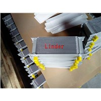 stack oil cooler for automobile