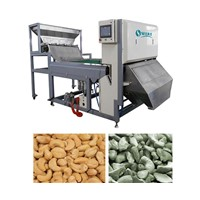 Adopted advanced High-Tech Chinese famous brand cashew color sorter