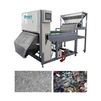 plastic flake color sorter,ccd belt-type plastice color sorter machine made in china