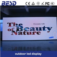 P20 outdoor full color commericial advertising video broadcasting LED Display screen