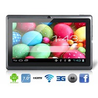 7 inch tablet pc with Q88,android tablet pc ,Dual Core tablet