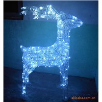 China wholesale Christmas decoration supplies sculptures Christmas light
