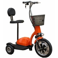 Q33-Deluxe STAND & RIDE 3 Wheel Electric Mobility/Utility Scooter W/ Parking Brake & Reverse