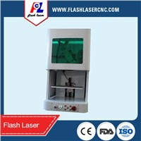 mini high speed fiber laser marking machine on piegon ring / iphone case / jewelry for sale