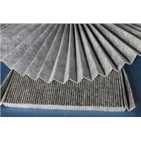 Carbon filter cloth
