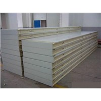 China Cheap Building Material PU (Polyurethane) Sandwich Panel