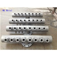 Custom Design Pipe Fittings Pipeline China Manufacturer
