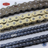 Color Box Packed Colored DIN standard Series Motorcycle Chain For Honda, Suzuki