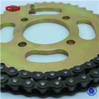 Motorcycle chain high quality motor spare parts drive transmission chain