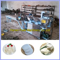 Automatic 6 group rollers dumpling skin making machine, dumpling wrapper machine