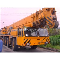 Used Germany Truck Crane AC435 150T Capacity Crane Original Demag Spare Parts Crane 150t