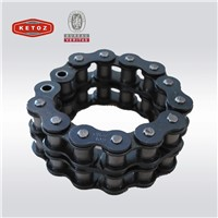 British Standard Size Dark Blue High Durable Industrial Roller Chain