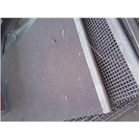 Hooked stainless steel woven wire screen cloth for Mud clearner, Desander, Desilter