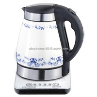 1,7L ceramic kettle with base(Model No.: M-CK1702T)