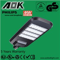 IP66 High Power Modular LED Street Lights with motion sensor and light sensor
