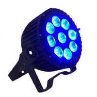 LED Flat Par Waterproof 9*12w RGBWA 5 in 1 LDE Par Can Stage Effecting Lighting