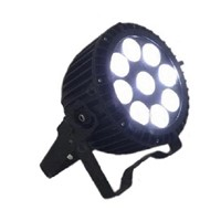 LED Flat Par Waterproof 9*10w RGBW 4 in 1 LDE Par Can Stage Effecting Lighting