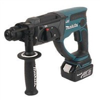 Makita BHR202RFE 3.2kg 3Ah Li-Ion Cordless SDS Plus Hammer Drill 18V LXT Power Tool