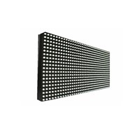 Outdoor P6.67 DIP 3-IN-1 Full Color LED Display Module Panel , 7500 Nits 1/6 Scan 48*24 Pixels