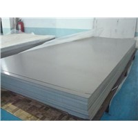 Water treatment for titanium anode sheet