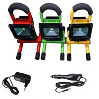 Rechargable LED Flood Light/IP65 Portable Outdoor LED Work Light/Camping Emergency Light