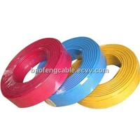 PVC Sheath Copper Electric Cable H05VV-F Cable