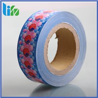 Bubble gum packing colored wax paper for candy packaging