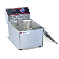 Restaurant Deep Fryer with cover