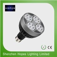 35W PAR30 E27 led spot light with Fan