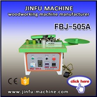 FBJ-505A portable mini curvilinear and linear edge banding machine / wood working machine