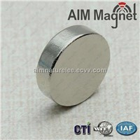 High power N42 rare earth disc strong magnet for sale