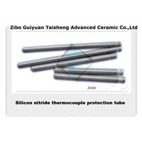 Silicon nitride ceramic heater protection tube,fast heat conductivity property
