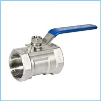 1pc ball valve screw end