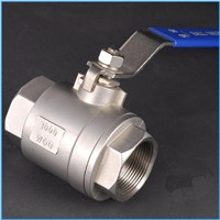 2pc thread ball valve