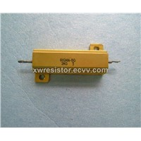 Yellow Aluminium House Wire-Wound Power Resistors