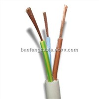 pvc insulation flexible electrical wire